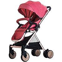 高地の赤ちゃんのベビーカー軽量の通気性のベビーカーは、ベビーカーを座ることができます