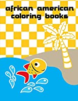 African American Coloring Books: Christmas Book ,Easy and Funny Animal Images (Pet Lover)