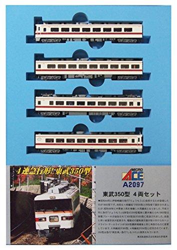 マイクロエース Nゲージ 東武350型 4両セット A2097 鉄道模型 電車