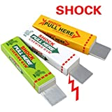 Electric Shock Joke Chewing Gum Pull Head Shocking Toy Gift Gadget Prank Trick Gag Funny by QXXBYE