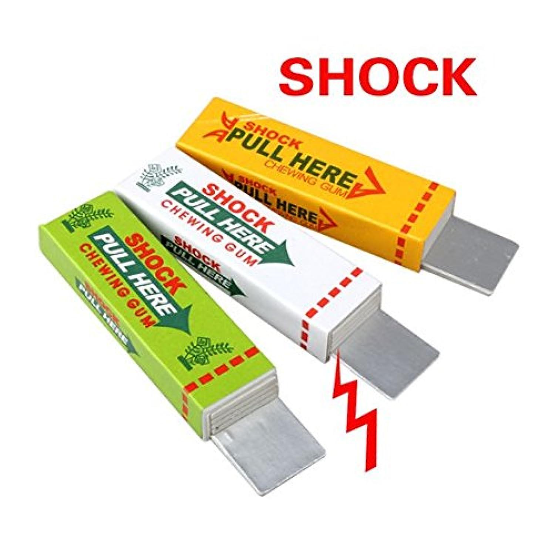 Electric Shock Joke Chewing Gum Pull Head Shocking Toy Gift Gadget Prank Trick Gag Funny by QXXBYE