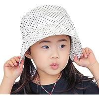 (チェリーレッド) CherryRed 子供 日焼け防止 UVカット 紫外線対策 熱中症 夏 海 紫外線 幼児用 女の子 ボーダー