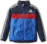 (アディダス)adidas トレーニングウェア adidas24/7 強ブレ ジャケット(裏起毛) BVA31 [ボーイズ] AZ7498 ブルー/カレッジネイビー J140
