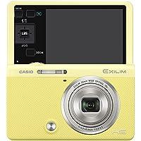 CASIO デジタルカメラ EXILIM EX-ZR70YW 「自分撮りチルト液晶」 「メイクアップ&セルフィーアート」 EXZR70 イエロー