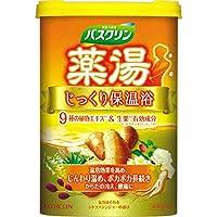 薬湯バスクリン じっくり保温浴 フローラルジンジャーの香り 600g(入浴剤)