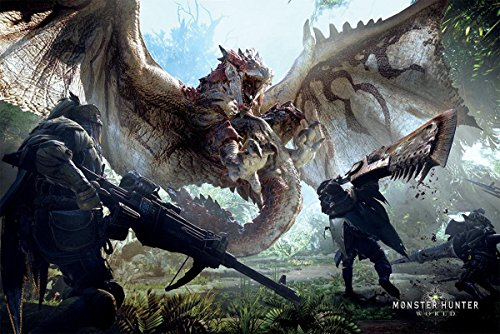 Monster Hunter World Poster (9...