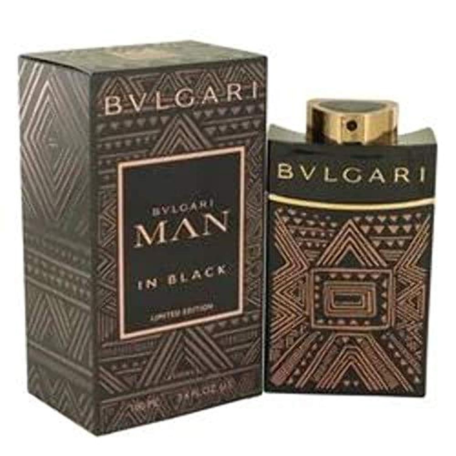 出来事膨らみ長老ブルガリ BVLGARI ブルガリ マン イン ブラック エッセンス 100ml EDP SP fs