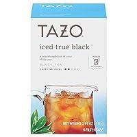 Tazo Iced Black Tea タソアイスブラックティー6ティーバッグ x 3箱(合計18ティーバッグ) [並行輸入品]