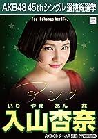 AKB48 45th シングル 選抜総選挙 翼はいらない 劇場盤 特典 生写真 入山杏奈 AKB48 チームA