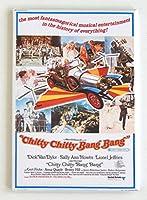 Chitty Chitty Bang Bang映画ポスター冷蔵庫マグネット( 2x 3インチ)