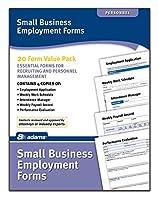Adamsスモールビジネス雇用フォーム、4各5の異なるフォーム、Includes指示( hv100)