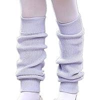 (リトルシング) Little Thing 子供~ジュニア用 バレエ レッグウォーマー 暖かく軽い レッスン シンプル 2色