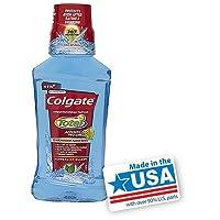 Colgate 総高度なプロシールドうがい薬、ペパーミントブラスト8.4オンス 1パック