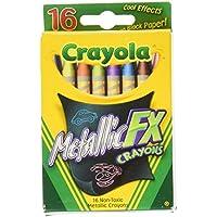 Crayola 52 – 8816 Metallic Fxクレヨン16カウント