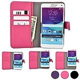 Cooper Cases(TM) Slider HTC Desire 616 Dual Sim, 620/620G Dual Sim ユニバーサル6インチスマートフォンウォレットケース(ホットピンク)(リアカメラアクセス、クレジットカード入れ、スリップポケット、マグネットカバーロック付き)