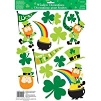 St Patricks Day Window Sticker Decorations
