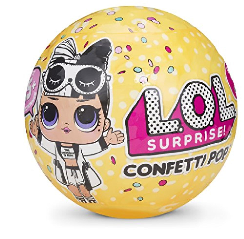 L.O.L. Surprise Surprise Confetti Pop-Series 3 Collectible Dolls (1 random item supplied)