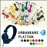 URBANEARS Plattan ヘッドフォン ヘッドフォンで変わる!URBANEARS唯一の密閉型フルサイズが登場 (ホワイト)
