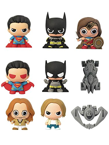 バットマン vs スーパーマン ジャスティスの誕生/ レーザーカット フィギュラル・キーリング: 24個入りボックス
