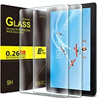 ELTD Lenovo TAB P10 フィルム 2枚セット Lenovo TAB P10 保護フィルム LAVIE Tab E TE510/JAW PC-TE510JAW 高透過率 スクラッチ防止 気泡ゼロ 指紋防止ガラスフィルム