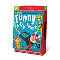 Kindergarten A-D Reader Box Set - Funny Furry Tales (Scholastic Early Learners) [並行輸入品]