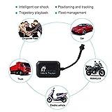 Sedeta® 車のオートバイのGPSトラッカーのロケータAndroid時間リアルトラッキングミニLBS GSM GPRS 4バンドトラッキング盗難防止トラッカー