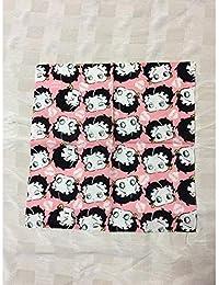 ベティーちゃん Betty Boop バンダナ/BANDANA/コットン/ベティブープ/ハート/HEART/ピンク