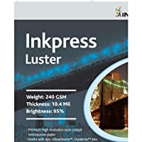 Inkpress pcl131950 Commercial Lusterインクジェット用紙13 in。X 19 In。50シート