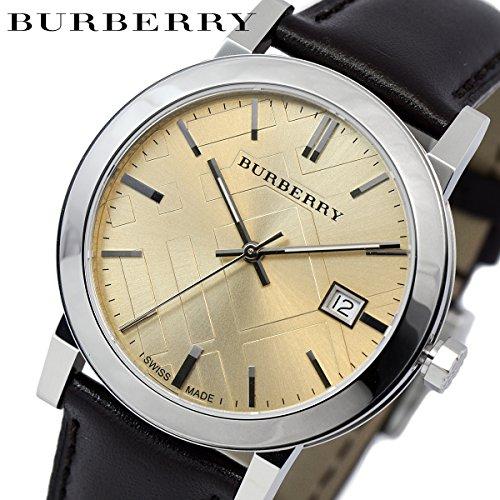 [バーバリー] BURBERRY シティ レザーベルト 腕時計 メンズ BU9011 [並行輸入品]...