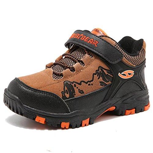 アウトドア トレッキング キッズ・ジュニアシューズ 登山靴 ウォーキング ハイキングブーツ 男の子 ...