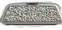 ゴルフボール& tees- 22inches-by-65inches-リアウィンドウグラフィックス