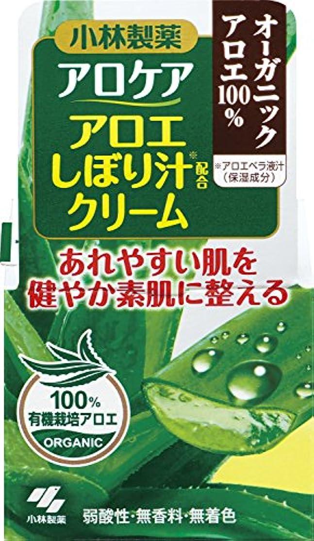 抑止する義務づけるバンガローアロケア アロエしぼり汁配合クリーム 50g