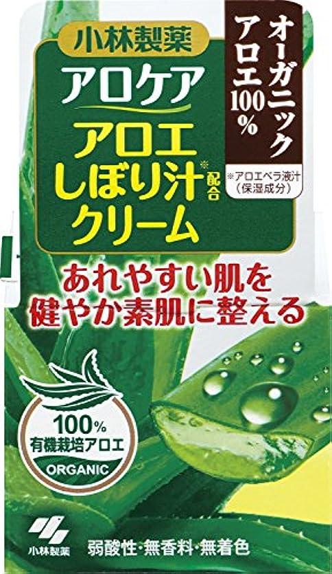 非効率的な風変わりなナチュラルアロケア アロエしぼり汁配合クリーム 50g
