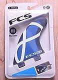 FCS(エフシーエス) UL-5  TRI FIN SET [Blue] サイズ M トライフィン 3枚セット