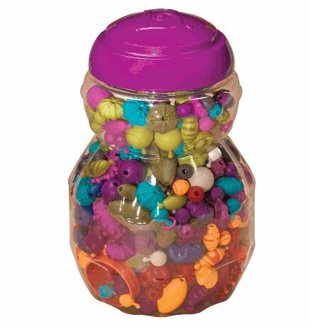 B. Pop-Arty Beads ビーズセット(500ピース) [並行輸入品]...