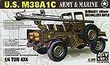 AFVクラブ 1/35 M38A1C 米軍 1/4t 4×4トラック M40A1 106mm無反動砲搭載型