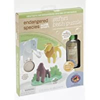 Endangered Species by Sud Smart Safari Bath Puzzle by Health Science Labs [並行輸入品]