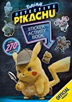 Detective Pikachu Sticker Activity Book: Official Pokemon
