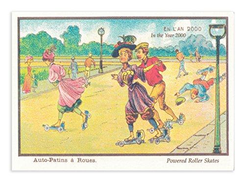 パンチスタジオ ポストカード (未来の生活×スケート) 89000F