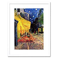Painting Van Gogh Cafe Terrace Place Forum Arles Framed Wall Art Print