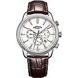 ロータリーメンズ用モナコクロノグラフ腕時計gs05083/06