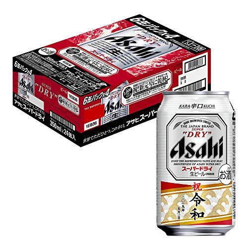 アサヒスーパードライ 缶 祝新元号に乾杯 キャンペーンパック [ 350ml×24本 ]