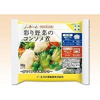 【冷凍介護食】摂食回復支援食 あいーと 彩り野菜のコンソメ煮 89g