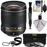 Nikon 28mm f/1.8g af-s Nikkorレンズwith 3UV/nd8/CPLフィルタ+キットfor d3200、d3300、d5200、d5300、d7000、d7100、d610、d800..