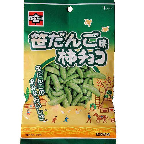 【新潟県限定】 柿チョコ笹だんご味 70g