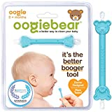 oogiebear - The Safe Baby Nasal Booger and Ear Cleaner - Baby Shower Registry Essential   Easy Baby Nose Cleaner Gadget for Infants and Toddlers   Dual Earwax and Snot Removal - 1 Count