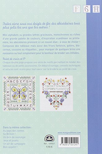 MANGO 「JOLIS ABECEDAIRES」 クロスステッチ図案・作品集-フランス語