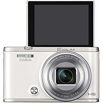 CASIO デジタルカメラ EXILIM EX-ZR4000WE 超広角19mm アニメーション動画を作れる「ワイドビューフォト」 EXZR4000 ホワイト