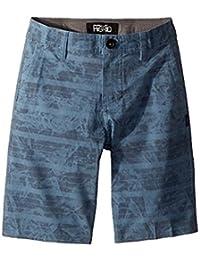 オニール ONeill Kids キッズ 男の子 ショーツ 半ズボン Slate Mischief Hybrid Shorts (Big Kids) [並行輸入品]