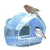 窓ガラス用バードフィーダー お部屋から野鳥や小鳥の観察・撮影に 並行輸入品